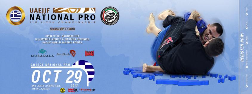GREECE NATIONAL PRO JIU-JITSU CHAMPIONSHIP - GI - Abu Dhabi